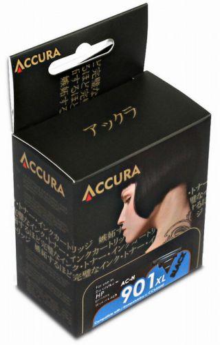 Accura alternativní inkoust HP No. 901 XL (654E) black cena od 19,00 €