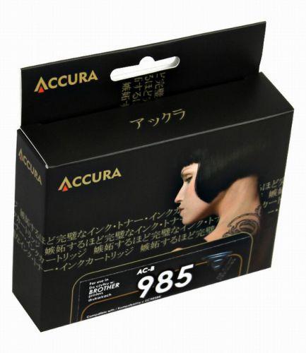Accura alternativní inkoust Brother LC985 black 30ml, 100 % NEW cena od 0,00 €