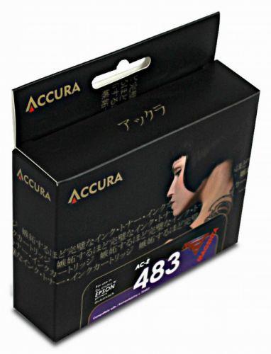 Accura alternativní inkoust Epson T0483, 18 ml, cyan 100 % NEW cena od 0,00 €