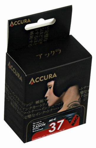 Accura alternativní inkoust Canon PG-37 12 ml, black - regenerovaný cena od 0,00 €