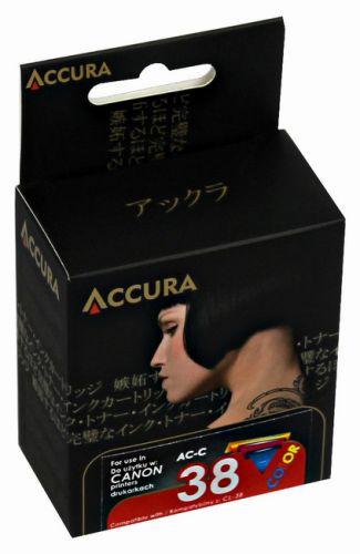 Accura alternativní inkoust Canon CL-38 21 ml, color - regenerovaný cena od 0,00 €