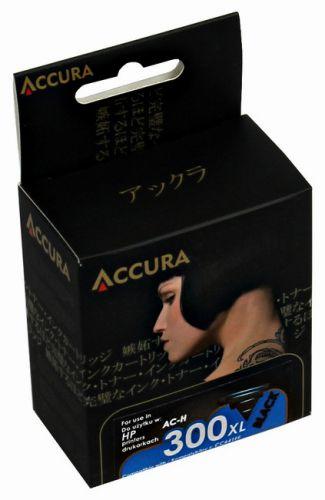 Accura alternativní inkoust HP No. 300 XL (CC641EE) 16 ml black reg. cena od 21,38 €