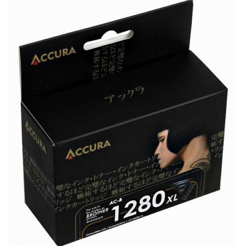 Accura alternativní inkoust Brother LC-1280XL black 60ml, 100 % NEW cena od 5,41 €