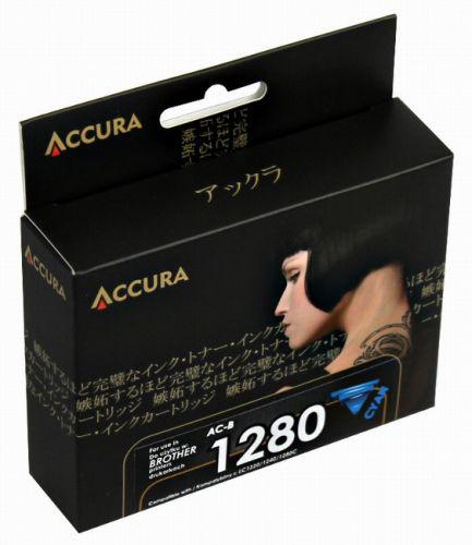 Accura alternativní inkoust Brother LC-1280XL cyan 20ml, 100 % NEW cena od 4,28 €