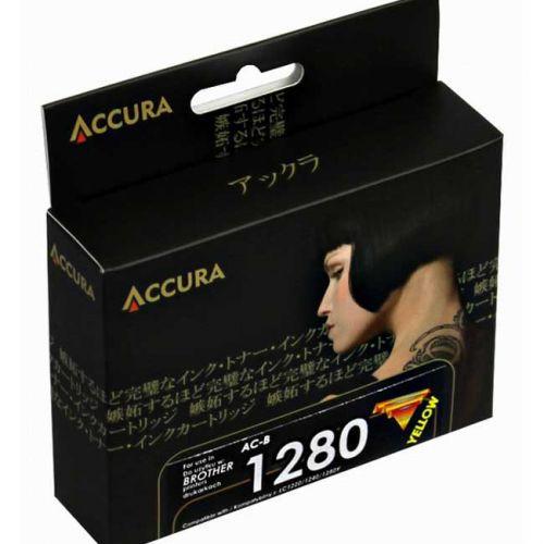 Accura alternativní inkoust Brother LC-1280XL yellow 20ml, 100 % NEW cena od 4,44 €