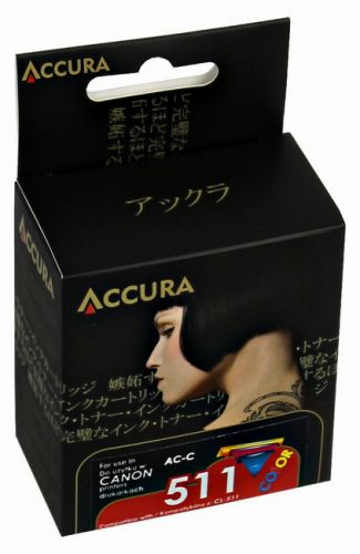 ACCURA inkoust pro Canon (CL-511) - color 12ml reg cena od 0,00 €