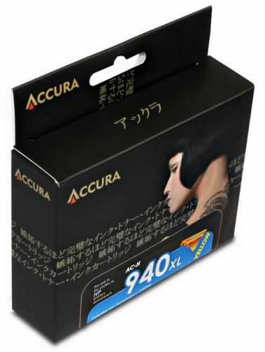 ACCURA inkoust pro HP No. 940XL (C4909AE) yellow 28ml cena od 0,00 €