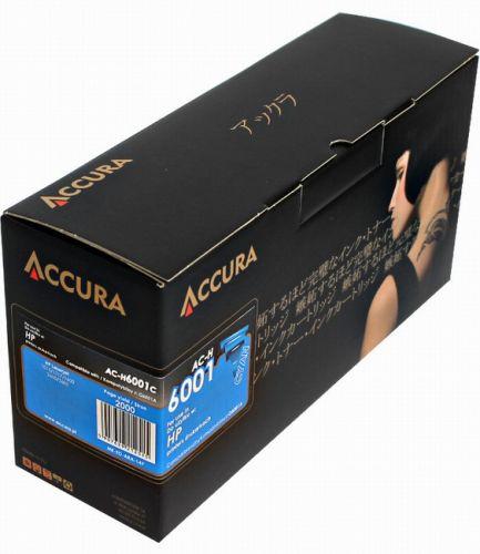 ACCURA Toner pro HP (Q6001A) LJ 1600/2600 - cyan 2000 stron reg cena od 0,00 €