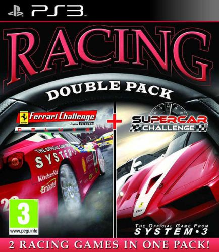 . Racing Double Pack: Ferrari Challenge Deluxe + Supercar Challenge (PS3) cena od 0,00 €