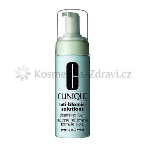 Clinique Anti Blemish Solutions Cleansing Foam Ostatné 125ml pre ženy Všechny typy pleti