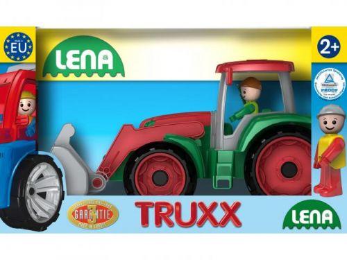 Lena Autá Truxx traktor v krabici