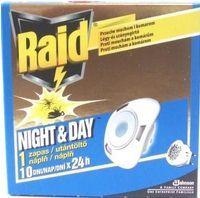 S.C.Johnson Raid elektrický odparovač pre deň aj noc proti muchám i komárom