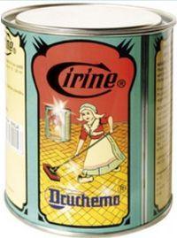 Druchema Cirino biela tuhá pasta na parkety, drevo a linoleum 550 g