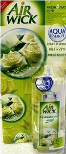 Reckitt Benckiser AIR WICK ® FreshMatic ® Mini Biele kvety náhradná náplň 24 ml