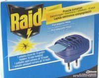 S.C.Johnson Raid elektrický odparovač a vankúšiky 10 kusov proti lietajúcemu hmyzu