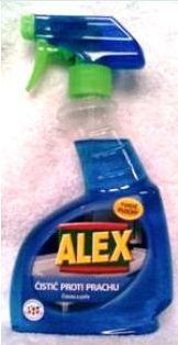 Marca CZ Alex sprej proti prachu čistí bezo šmuhy 375 ml