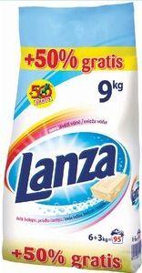 Reckitt Benckiser Lanza White prací prášok 6 kg + 50% gratis (9 kg)
