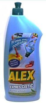 Marca CZ ALEX priamo na podlahu Expres čistič s vôňou eukalyptu 1L