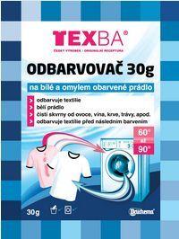 Druchema Texba odfarbovač 30 g na omylom zafarbené prádlo