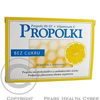 Glynn Brothers Propolki Bez cukru sa užívajú pri zvýšenom riziku chorôb z prechladnutia, k ochrane dýchacích ciest ak podpore prirodzenej obrany organizmu cena od 0,00 €
