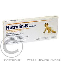 CIPLA BOMBAY CENTRAL, BOMBAY Nutrolin-B pedtabs rozpustné tbl. 20