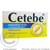 GLAXO SMITHKLINE Cetebe Immunity Plus cps. 60 cena od 0,00 €