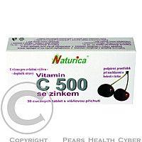 NATURICA NATURICA Vitamin C 500 mg se zinkem ctb. 30
