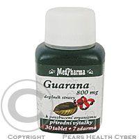 MEDPHARMA Guarana 800 mg tbl. 37