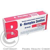 B-KOMPLEX FORTE ZENTIVA DRG 20
