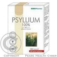EDENPharma Psyllium zn.Psyllicol cps.120 Použitie Originálne indické Psyliium Dr Popova - stopercentne prírodná, nenávyková rozpustná vláknina, vznikajúca vyčistením semien obalov Skoroceľu indického.