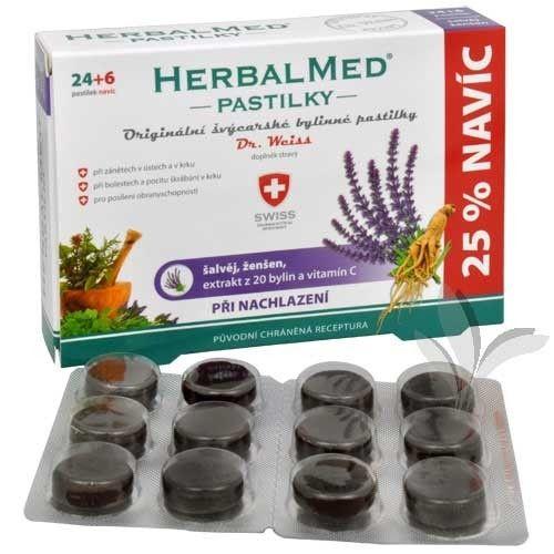 SIMPLY YOU HerbalMed Dr Weiss alvěj ženšen vitamin C 24+6 tobolek
