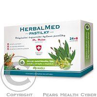 SIMPLY YOU HerbalMed Dr.Weiss Jitrocel máta lípa vitamin C 24+6tobolek