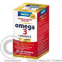 VITAR Revital Omega 3 +vitamin E prémium cps.60