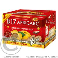 TEREZIA COMPANY, B17 APRICARC s meruňkovým olejem cps.150+30