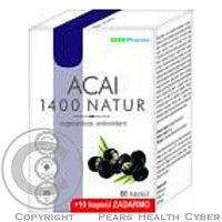 EDENPharma EP ACAI 1400 NATUR 60+10CPS ZDARMA