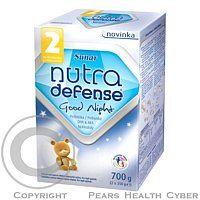 Hero Nutradefense 2 Good Night je výrobok následná dojčenskej mliečnej výživy určený pre výživu dojčiat od ukončenia 6. mesiace. Je doporučeným pokračovaním po materskom mlieku, ak Vaše dieťa nie je, alebo už nemôže byť dojčené. Nutradefense 2 Good Night