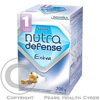 Hero Počiatočná sušená mliečna dojčenská výživa. Pre Extra spokojnosť. Určené pre výživu dojčiat od narodenia, pokiaľ nemôžu byť dojčené. Obsahuje zložky prirodzene sa vyskytujúce v materskom mlieku - prebiotickú vlákninu GOS, omega 3 a 6 kyseliny a nukle