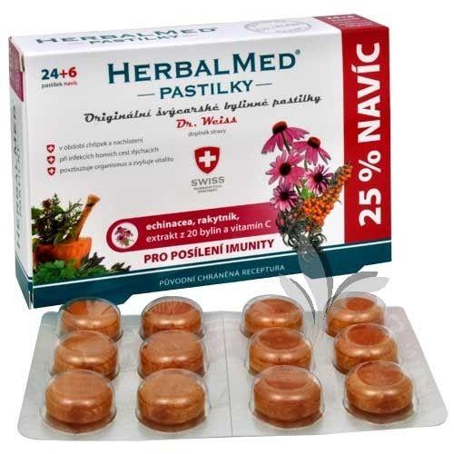 Simply You Slovakia s.r.o. HerbalMed pastilky Dr Weiss pre posilnenie imunity
