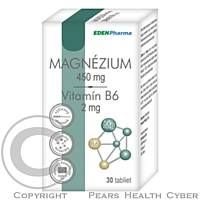 EDENPharma EP MAGNÉZIUM+VITAMÍN B6 30TBL