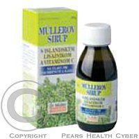 Dr.Muller Pharma Müllerov sirup s islandským lišajníkom a vitamínom C je prírodný prostriedok používaný pri dráždivom kašli a zachrípnutí.