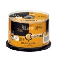 CD médium INTENSO 700MB 50cake cena od 0,00 €