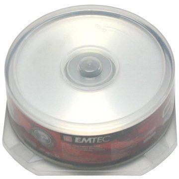 EMTEC CD-R 25ks cakebox