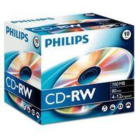 CD-RW Philips 700MB 12speed SLIM cena od 0,00 €