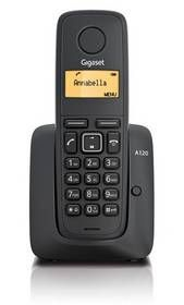 Gigaset AS120 bezdrôtový telefonny pristroj
