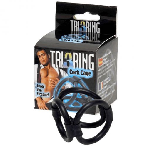 UNKNOWN BRAND Tri Ring Cock Cage
