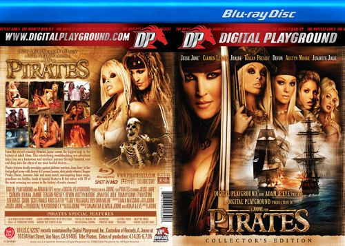 DIGITAL PLAYGROUND Pirates 1 (Blu-Ray)