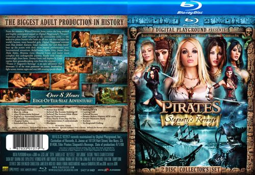 DIGITAL PLAYGROUND Pirates 2: Stagnetti's Revenge (2 Disc Set) (Blu-Ray)