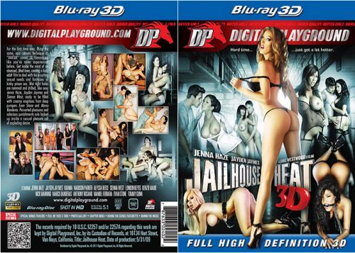 DIGITAL PLAYGROUND Jailhouse Heat 3D (3D Blu-Ray)