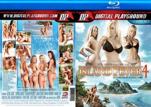 DIGITAL PLAYGROUND Island Fever 4 (Blu-Ray)