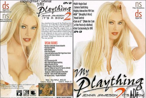 UNKNOWN BRAND My Plaything Jenna Jameson 2 (2 Disc Set)